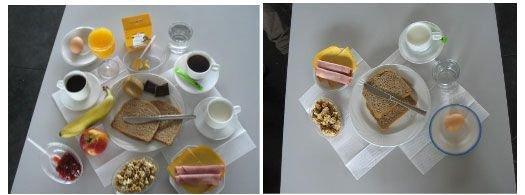 Een maaltijd wordt zoveel smakelijker met producten afkomstig van bestuiving (ontbijt met en zonder bestuiving)