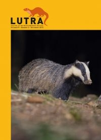 Das op cover Lutra (foto: Zoogdiervereniging)