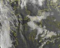 Wolkenfoto België zondag 13 november (bron: buienradar.nl)